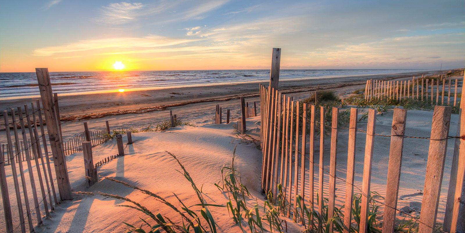 Sunset in Wilmington, NC