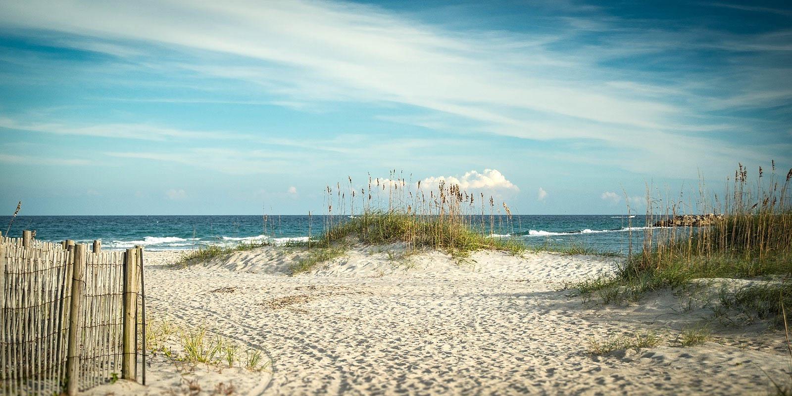Beach View in Wilmington, NC